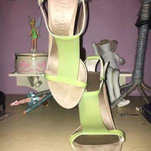 Burberry sandal heel